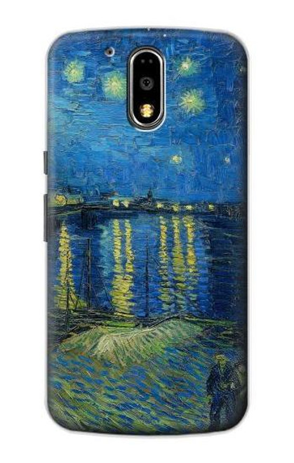 S3336 Van Gogh Starry Night Over the Rhone Case For Motorola Moto G4, G4 Plus