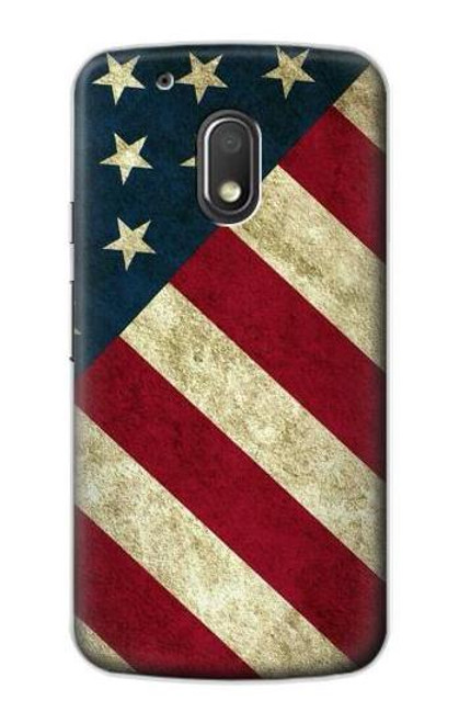 S3295 US National Flag Case For Motorola Moto G4 Play