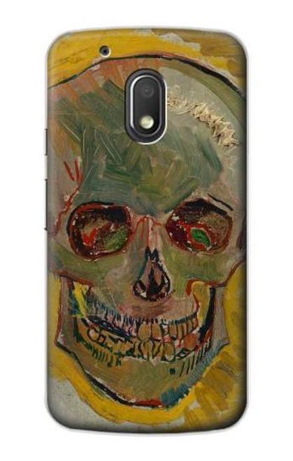 S3359 Vincent Van Gogh Skull Case For Motorola Moto G4 Play
