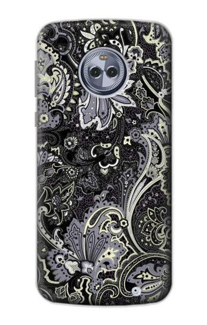S3251 Batik Flower Pattern Case For Motorola Moto X4