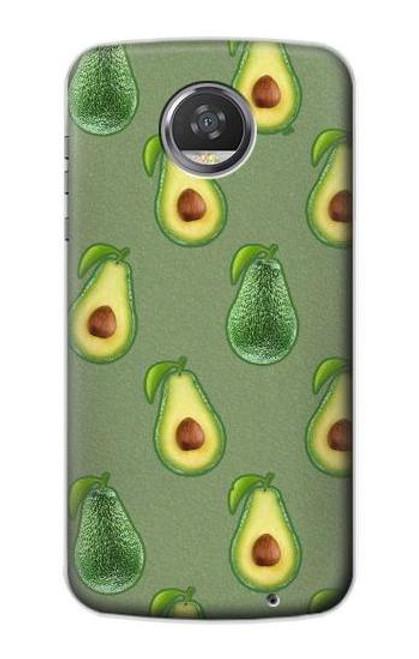 S3285 Avocado Fruit Pattern Case For Motorola Moto Z2 Play, Z2 Force