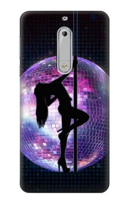 S3284 Sexy Girl Disco Pole Dance Case For Nokia 5
