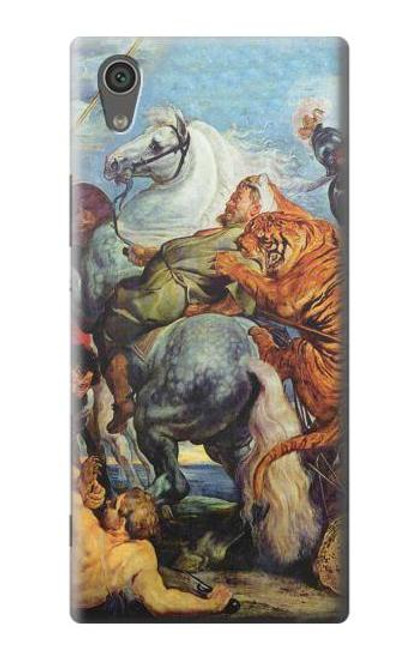 S3331 Peter Paul Rubens Tiger und Lowenjagd Case For Sony Xperia XA1