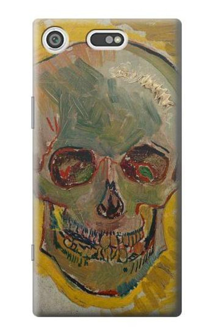 S3359 Vincent Van Gogh Skull Case For Sony Xperia XZ1