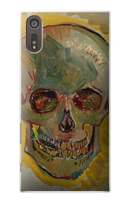 S3359 Vincent Van Gogh Skull Case For Sony Xperia XZ
