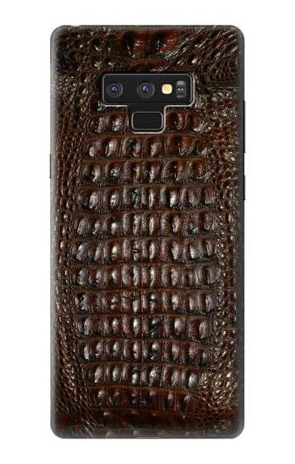 S2850 Brown Skin Alligator Graphic Printed Case For Note 9 Samsung Galaxy Note9