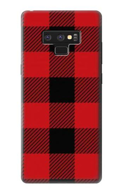 S2931 Red Buffalo Check Pattern Case For Note 9 Samsung Galaxy Note9