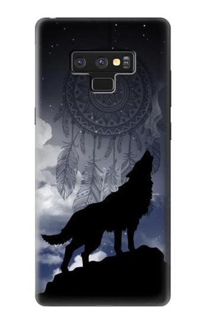 S3011 Dream Catcher Wolf Howling Case For Note 9 Samsung Galaxy Note9