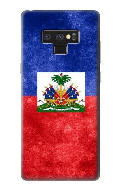 S3022 Haiti Flag Case For Note 9 Samsung Galaxy Note9
