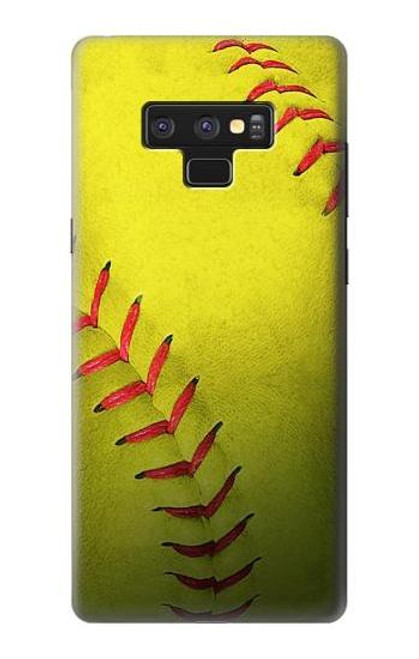 S3031 Yellow Softball Ball Case For Note 9 Samsung Galaxy Note9