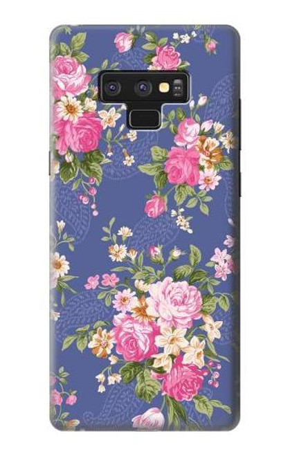 S3265 Vintage Flower Pattern Case For Note 9 Samsung Galaxy Note9