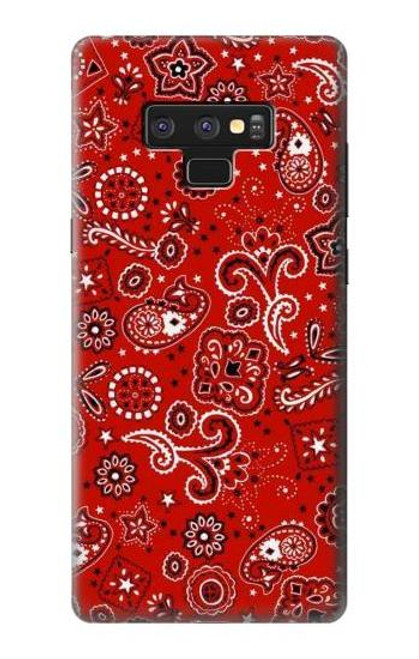 S3354 Red Classic Bandana Case For Note 9 Samsung Galaxy Note9