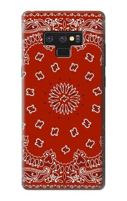 S3355 Bandana Red Pattern Case For Note 9 Samsung Galaxy Note9