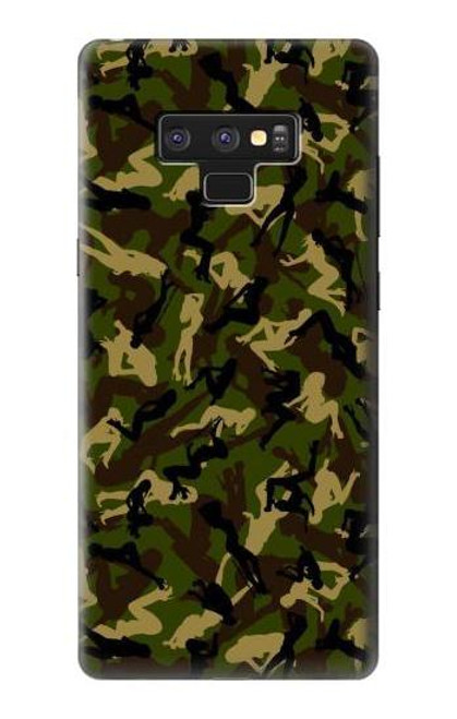 S3356 Sexy Girls Camo Camouflage Case For Note 9 Samsung Galaxy Note9