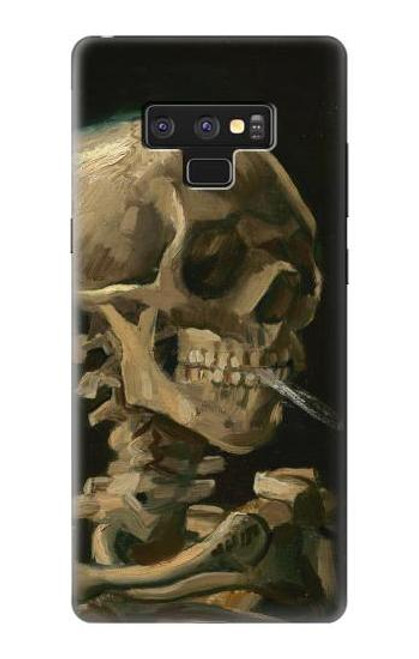 S3358 Vincent Van Gogh Skeleton Cigarette Case For Note 9 Samsung Galaxy Note9