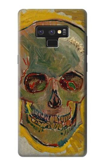S3359 Vincent Van Gogh Skull Case For Note 9 Samsung Galaxy Note9