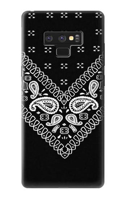 S3363 Bandana Black Pattern Case For Note 9 Samsung Galaxy Note9