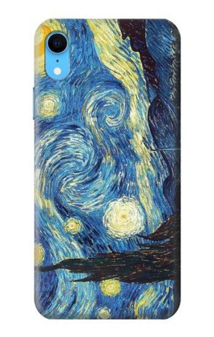 S0213 Van Gogh Starry Nights Case For iPhone XR