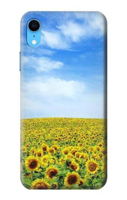 S0232 Sunflower Case For iPhone XR