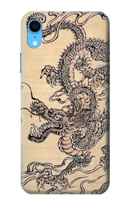 S0318 Antique Dragon Case For iPhone XR