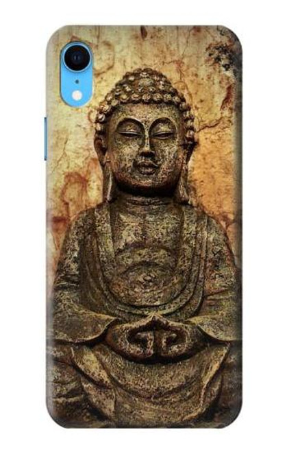 S0344 Buddha Rock Carving Case For iPhone XR