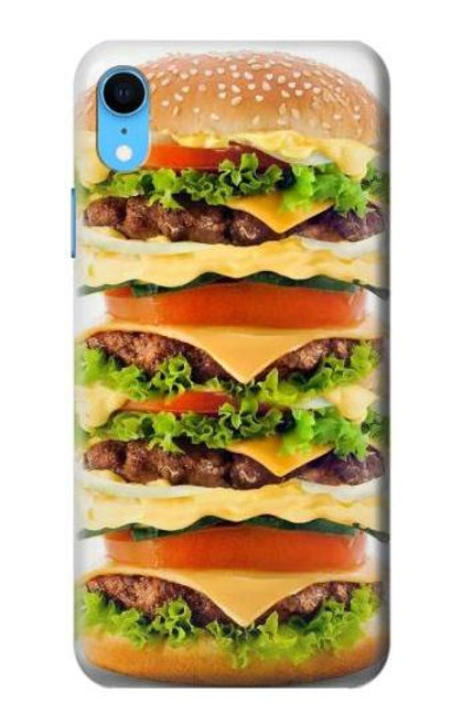 S0790 Hamburger Case For iPhone XR