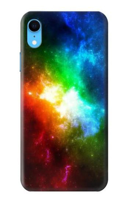 S2312 Colorful Rainbow Space Galaxy Case For iPhone XR