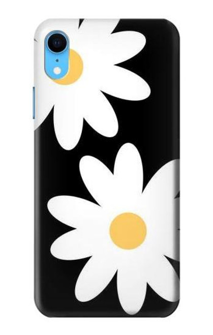 S2315 Daisy White Flowers Case For iPhone XR