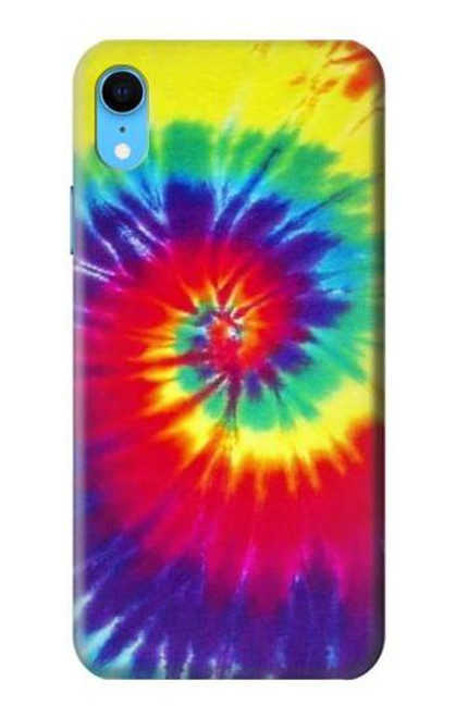 S2884 Tie Dye Swirl Color Case For iPhone XR