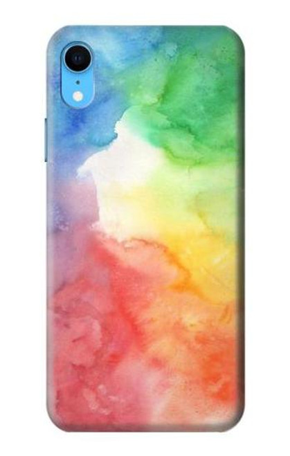 S2945 Colorful Watercolor Case For iPhone XR