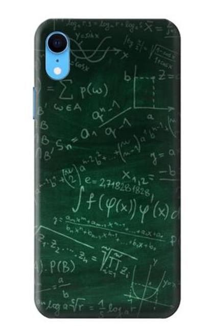 S3190 Math Formula Greenboard Case For iPhone XR