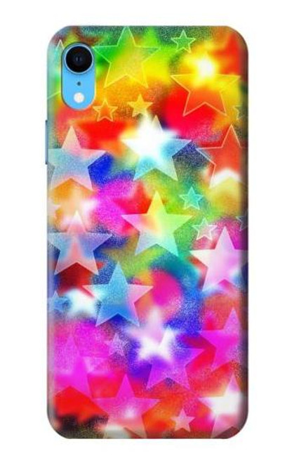 S3292 Colourful Disco Star Case For iPhone XR