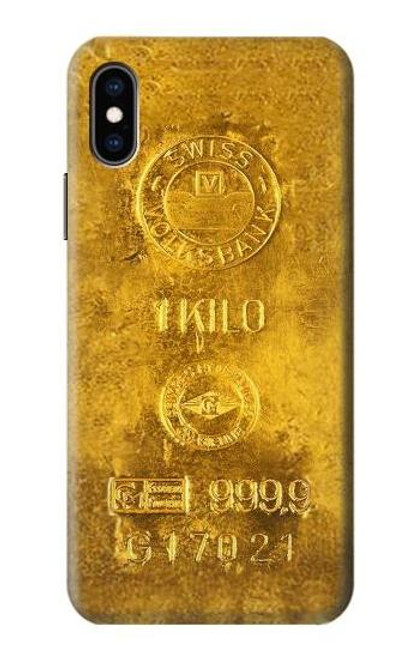 S2618 One Kilo Gold Bar Case For iPhone X, iPhone XS