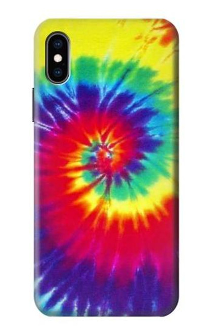 S2884 Tie Dye Swirl Color Case For iPhone X, iPhone XS