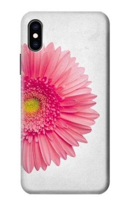 S3044 Vintage Pink Gerbera Daisy Case For iPhone X, iPhone XS