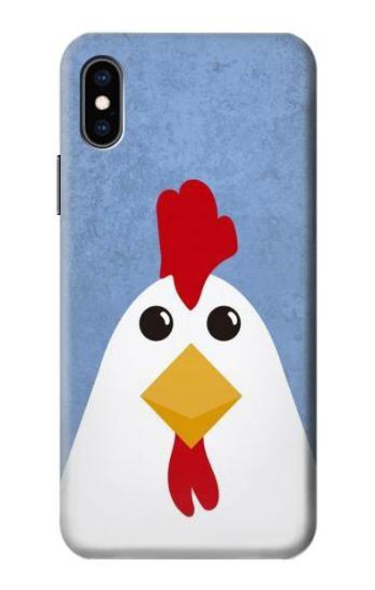 S3254 Chicken Cartoon Case For iPhone X, iPhone XS