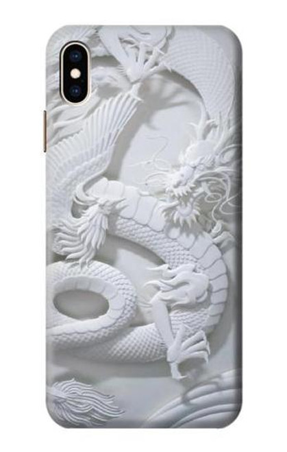 S0386 Dragon Carving Case For iPhone XS Max