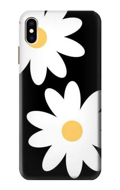 S2315 Daisy White Flowers Case For iPhone XS Max
