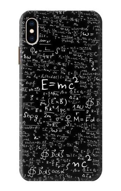 S2574 Mathematics Physics Blackboard Equation Case For iPhone XS Max