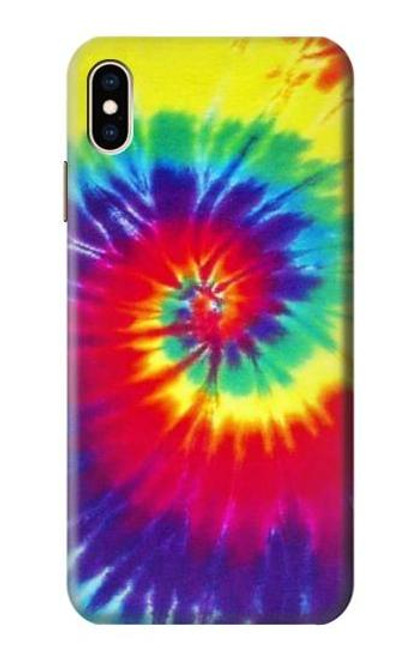 S2884 Tie Dye Swirl Color Case For iPhone XS Max