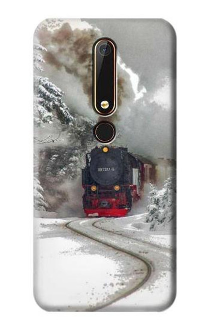 S1509 Steam Train Case For Nokia 6.1, Nokia 6 2018