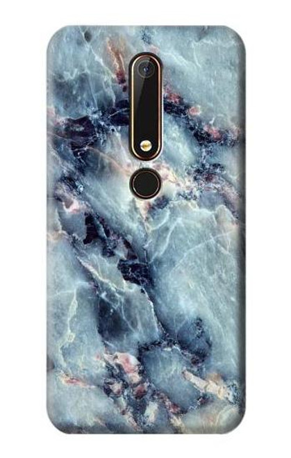 S2689 Blue Marble Texture Graphic Printed Case For Nokia 6.1, Nokia 6 2018