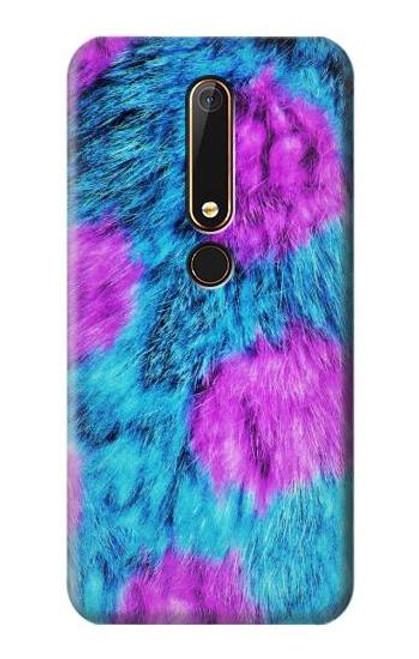 S2757 Monster Fur Skin Pattern Graphic Case For Nokia 6.1, Nokia 6 2018