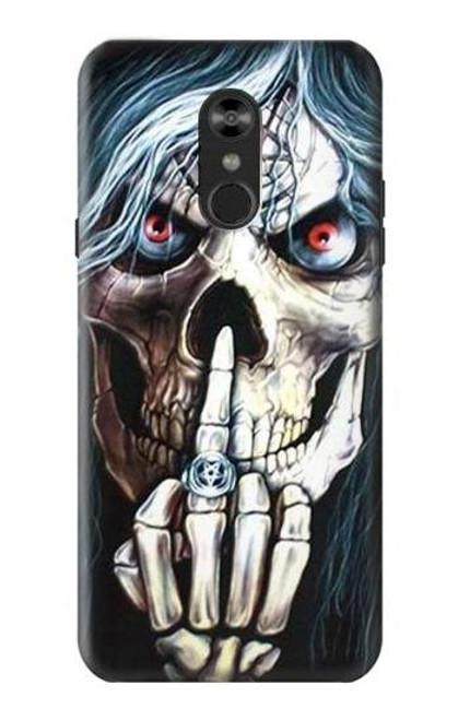 S0222 Skull Pentagram Case For LG Q Stylo 4, LG Q Stylus