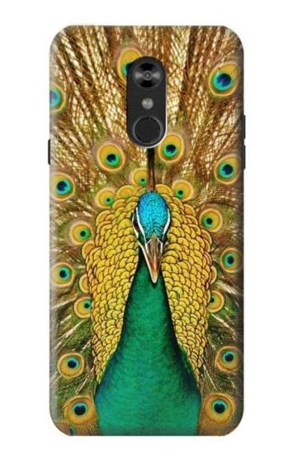 S0513 Peacock Case For LG Q Stylo 4, LG Q Stylus