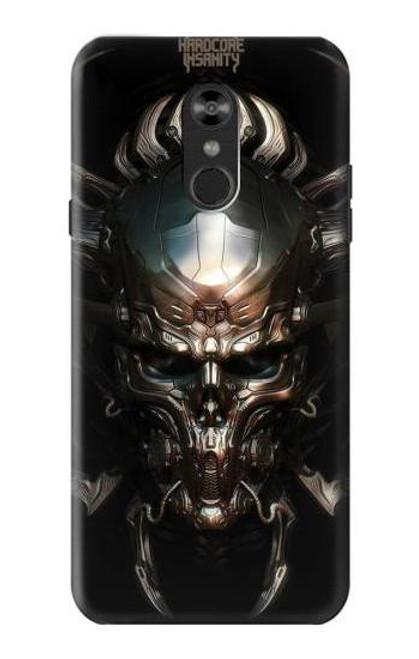 S1027 Hardcore Metal Skull Case For LG Q Stylo 4, LG Q Stylus