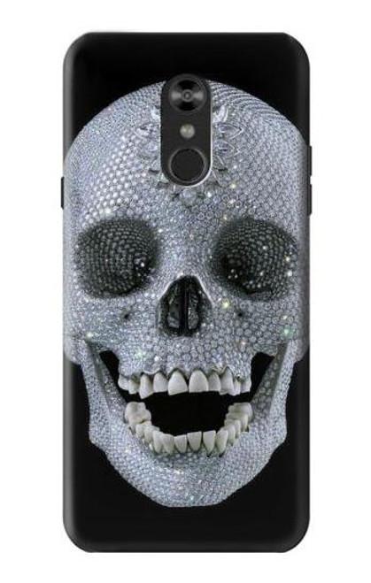 S1286 Diamond Skull Case For LG Q Stylo 4, LG Q Stylus