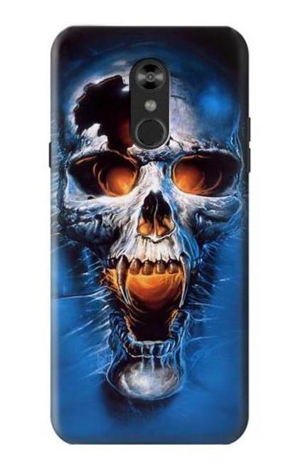 S1462 Vampire Skull Case For LG Q Stylo 4, LG Q Stylus