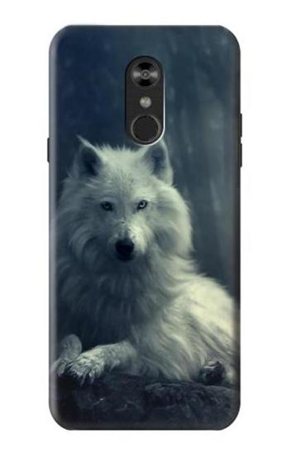 S1516 White Wolf Case For LG Q Stylo 4, LG Q Stylus
