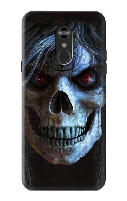 S2585 Evil Death Skull Pentagram Case For LG Q Stylo 4, LG Q Stylus